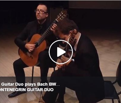 Montenegrin Guitar Duo Istanbul Classical Guitar Festival